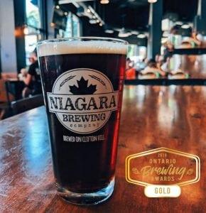Niagara Brewing Company's Irish Ale wins gold at Ontario Brewing Awards