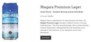 Niagara Brewing Company Shop